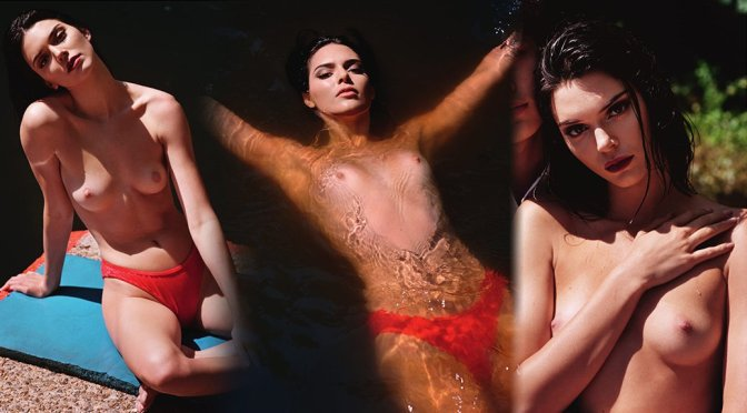 Kendall Jenner Topless For Love Magazine