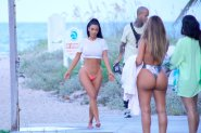 Kim Kardashian G String Bikini Photoshoot