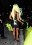 Kim Kardashian New Green Hair