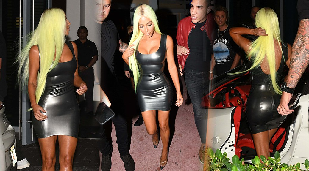 Kim Kardashian - Sexy Candids in Miami