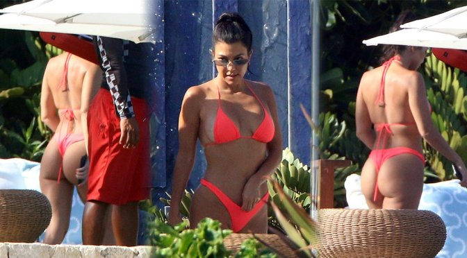 Kourtney Kardashian Sexy Bikini Body