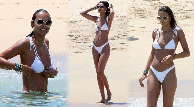 Lais Ribeiro – Bikini Candids in Mexico