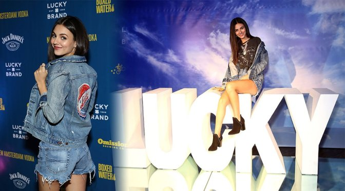 Victoria Justice – Lucky Brand Presents City Jam 2018 in Chicago