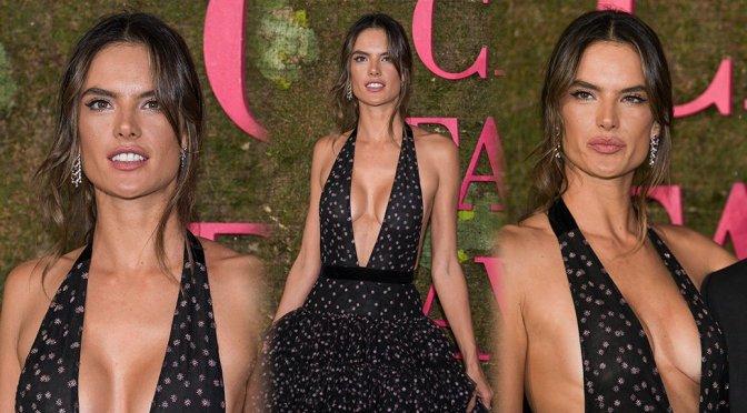Alessandra Ambrosio – Green Carpet Fashion Awards in Milan