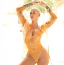 Amber Rose Sexy Lingerie