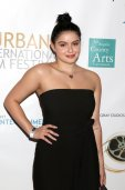 Ariel Winter Sexy Black Dress