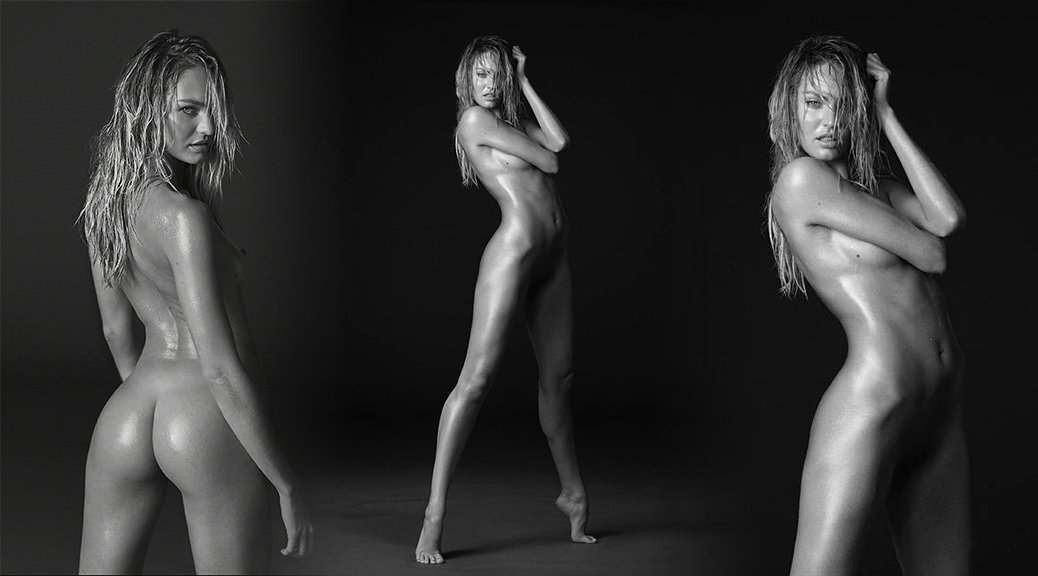 "Candice Swanepoel - ""Angels"" Naked Photoshoot by Russell James"