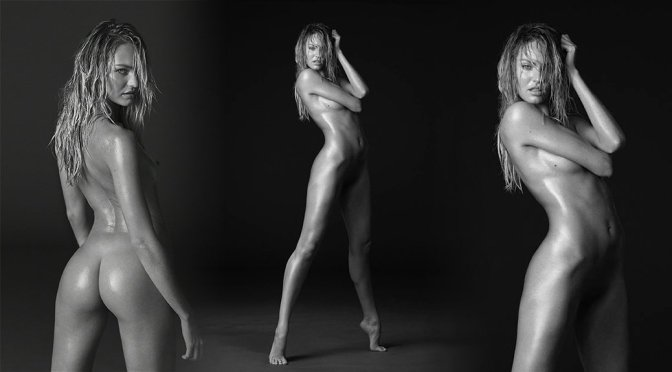 Candice Swanepoel Naked Angel