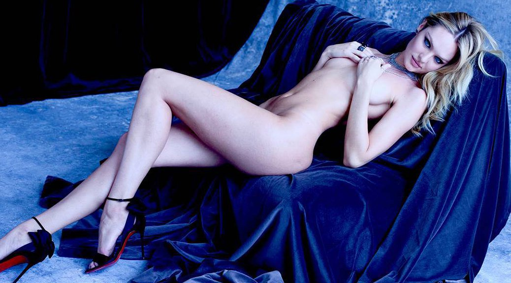 Candice Swanepoel - Naked Photoshoot by Sante D'Orazio