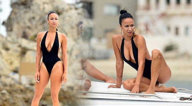 Draya Michele – Swimsuit Candids in Newport Beach