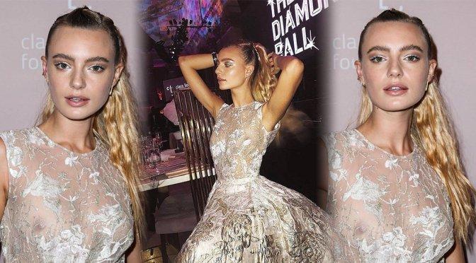 Maya Stepper – Rihanna's 4th Annual Diamond Ball in New York