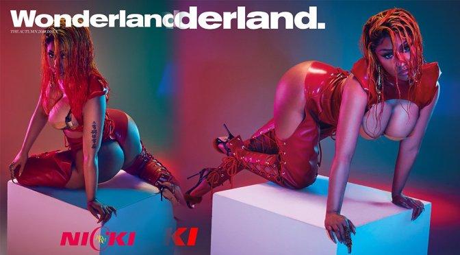 Nicki Minaj – Wonderland Magazine Photoshoot (Autumn 2018)