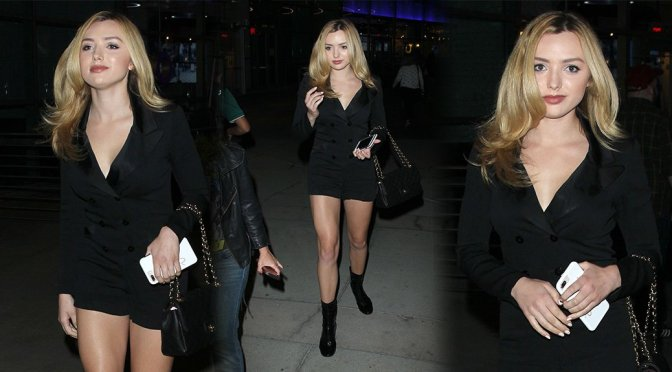Peyton Roi List – Leggy Candids in Hollywood