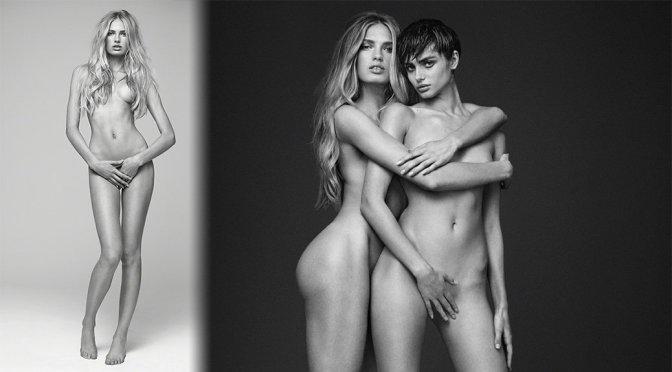"""Romee Strijd – """"Angels"""" Naked Photoshoot by Russell James"""