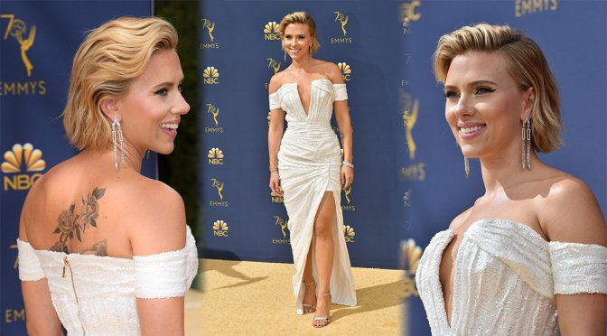 Scarlett Johansson – 70th Emmy Awards in Los Angeles