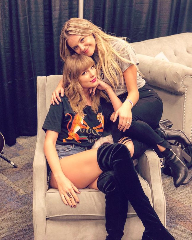 Taylor Swift With Kelsea Ballerini