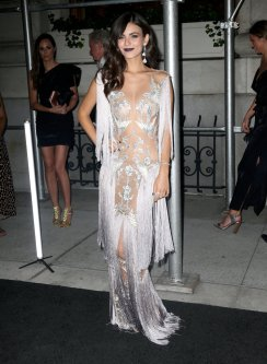 Victoria Justice Sexy Sheer Outfit