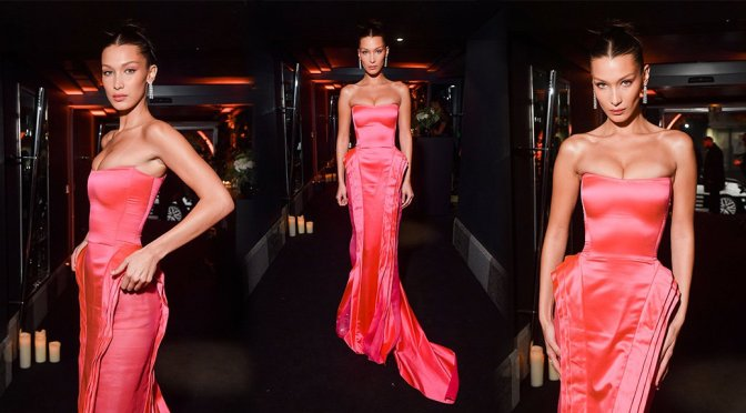 Bella Hadid – Naked Heart foundation Dinner in Paris