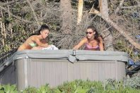 Bella Hadid Bikini In Hot Tub