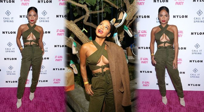 Christina Milian – Nylon's Annual IT Girl Party in Los Angeles