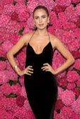 Kimberley Garner Sexy Black Dress