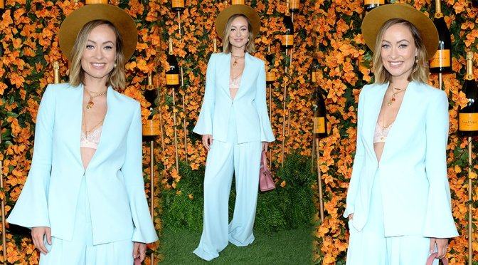 Olivia Wilde – Veuve Clicquot Polo Classic in Los Angeles