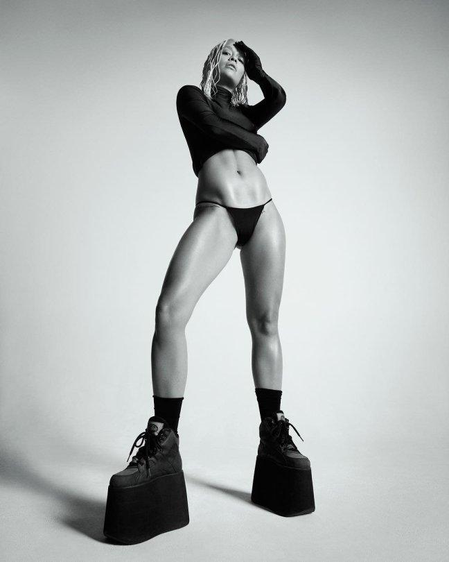 Rita Ora Long Legs
