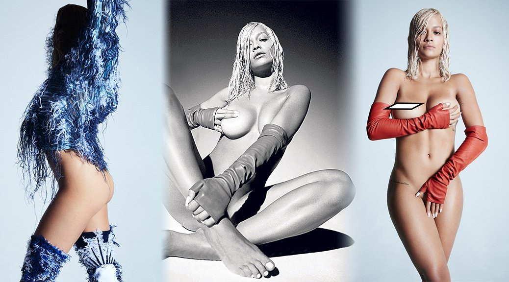 Rita Ora - Clash Magazine Naked Photoshoot (Autumn 2018)