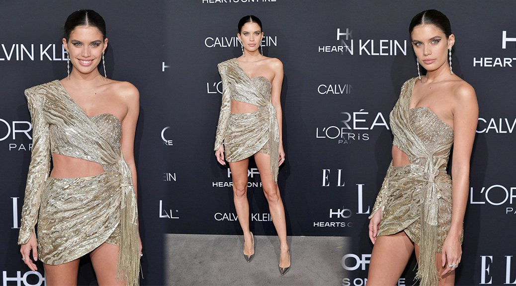 Sara Sampaio - 25th Annual ELLE Women in Hollywood Celebration