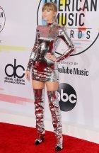 Taylor Swift Sexy Silver Dress