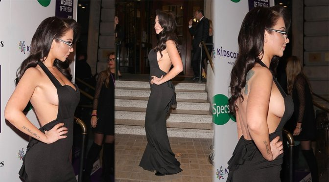 """Tulisa Contostavlos – Specsavers """"Spectacle Wearer Of The Year"""" in London"""