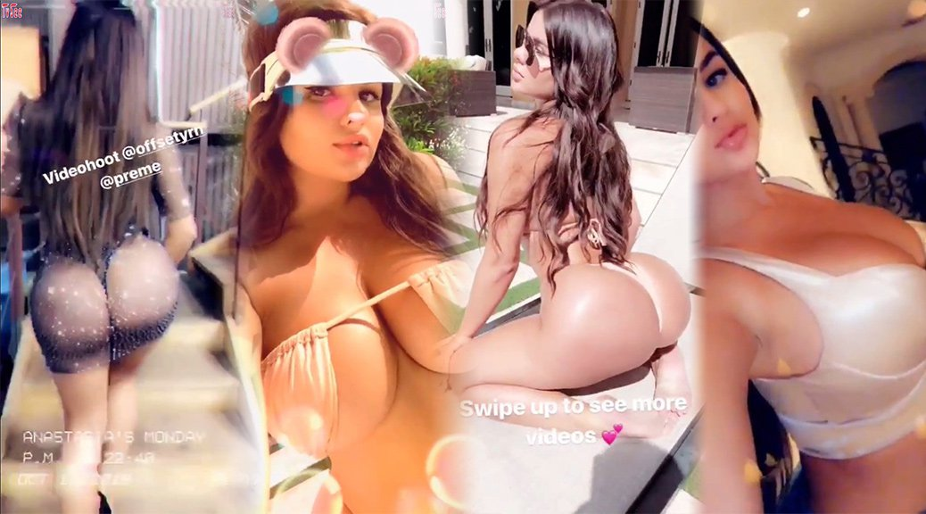 Anastasiya Kvitko - Sexy Instagram Stories