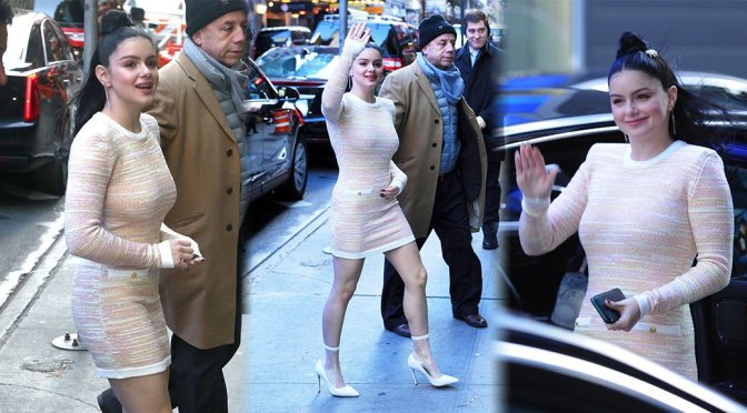 Ariel Winter Visiting Good Morning America in New York