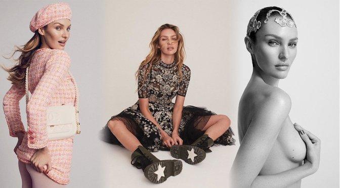 Candice Swanepoel – Numero Tokyo Magazine Topless Photoshoot