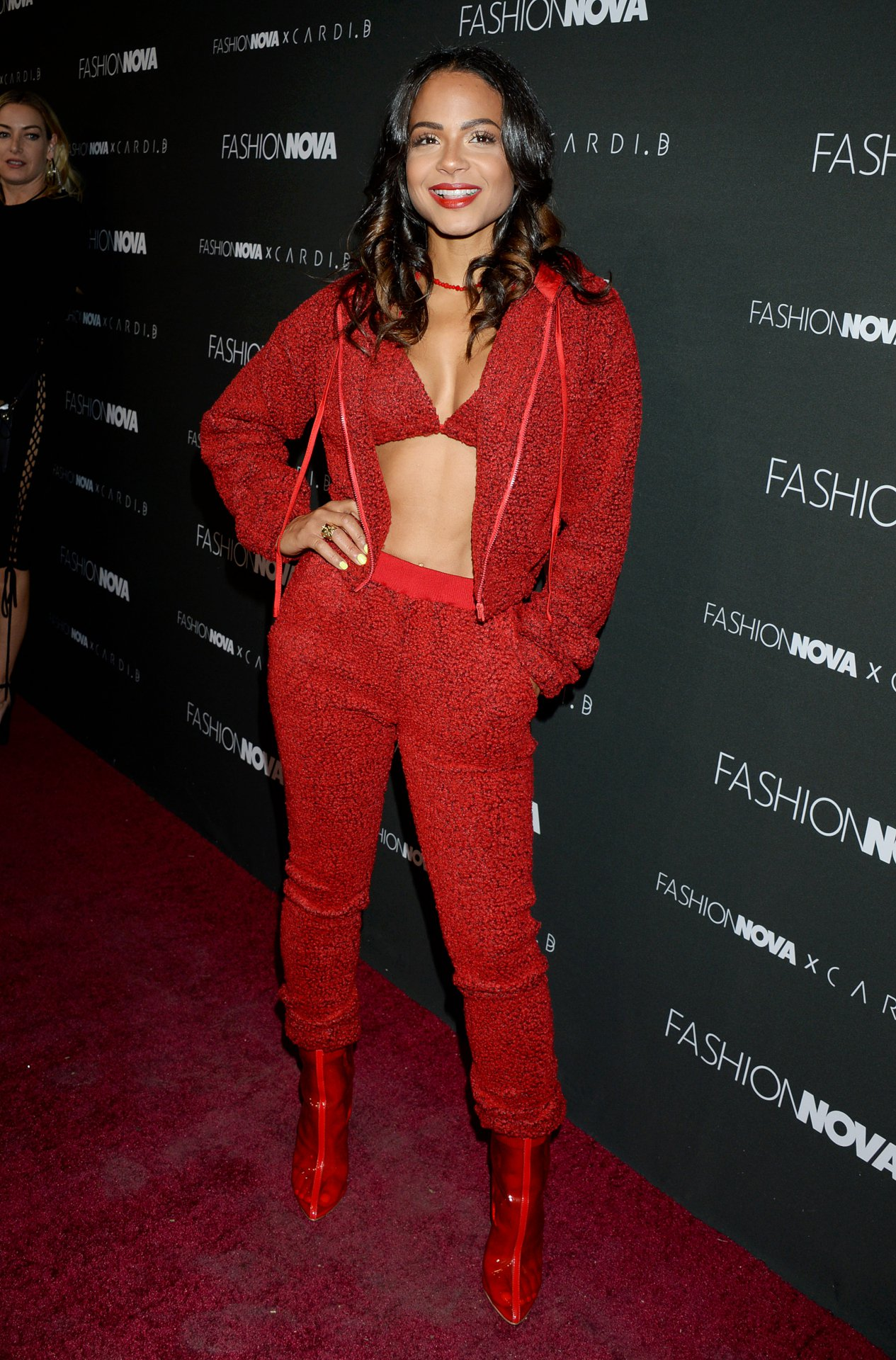 CHRISTINA MILIAN Hot Fashion Dress Stills in Beverly Hills