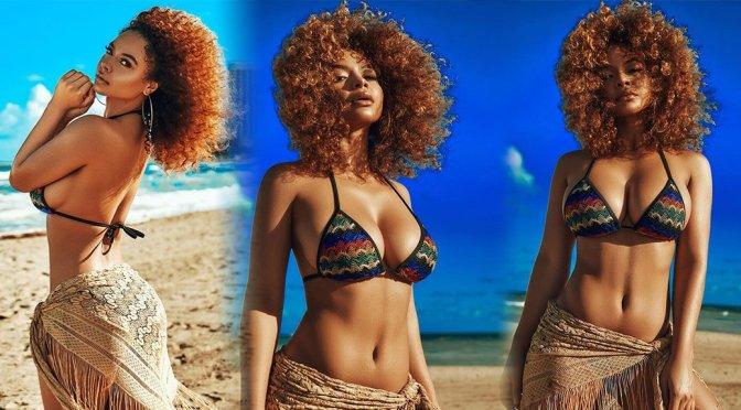 Crystal Westbrooks Sexy Big Boobs In Bikini Top