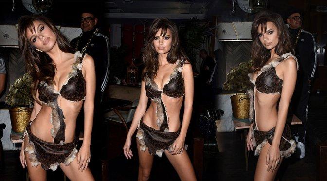 Emily Ratajkowski – Halloween Party in Los Angeles