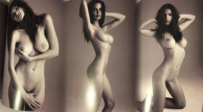 Emily Ratajkowski Topless Perfect Body