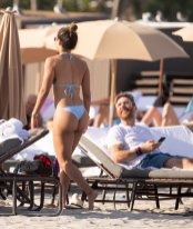 Jessica Ledon Sexy At Beach