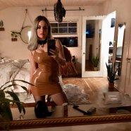 Jojo Levesque In A Sexy Dress