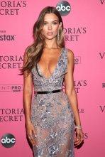 Josephine Skriver Sexy Low Cut Dress