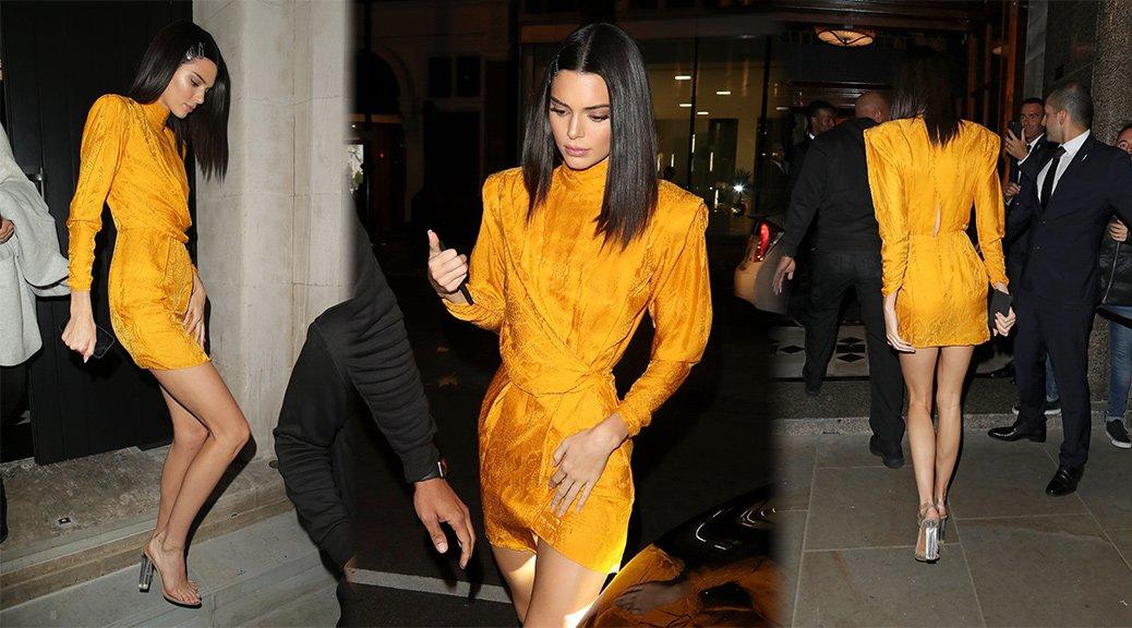 Kendall Jenner - Leggy Candids in London