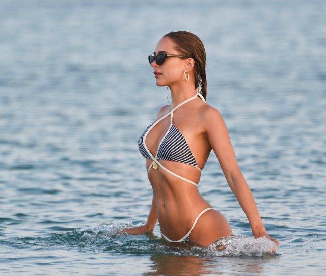 Kimberley Garner Sexy Bikini Candids In Miami