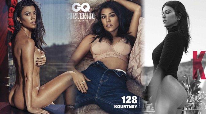 Kourtney Kardashian – GQ Mexico Magazine Naked Photoshoot (December 2018)