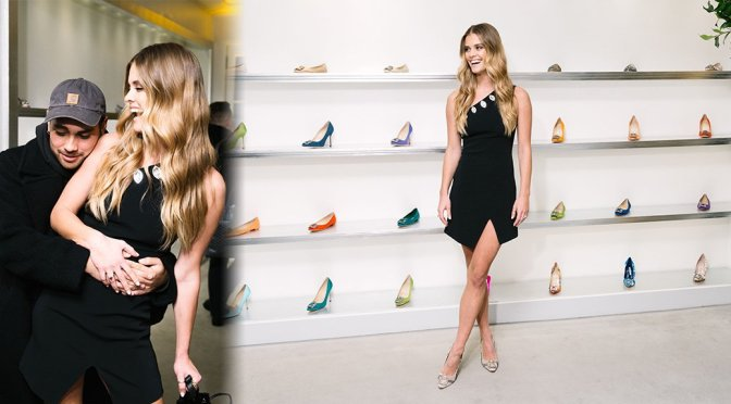 Nina Agdal – Manolo Blahnik's Hangisi Shoe 10 Year Anniversary Celebration