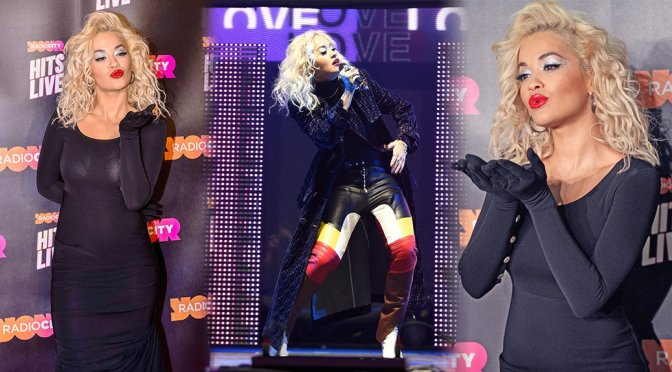 Rita Ora Performs Live at Radio City Hits Live in Liverpool