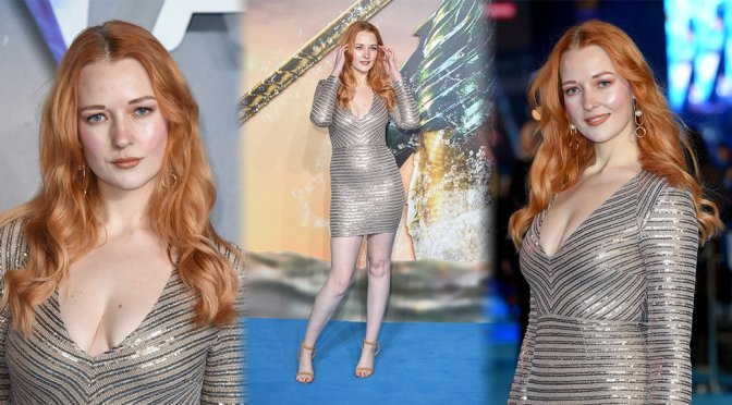 "Victoria Clay – ""Aquaman"" Premiere in London"
