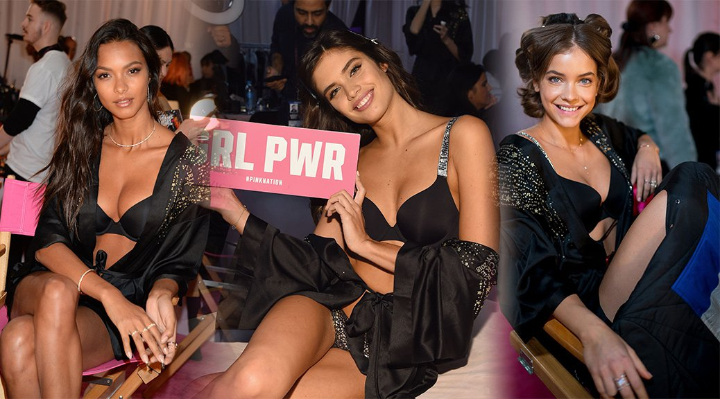 Various Celebs - 2018 Victoria's Secret Fashion Show Backstage in New York