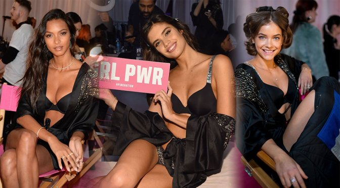 Various Celebs – 2018 Victoria's Secret Fashion Show Backstage in New York