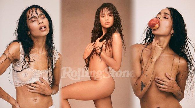 Zoe Kravitz – Rolling Stone Magazine Naked Photoshoot (November 2018)